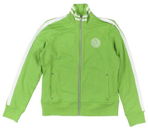 Lauren Active Women's Full-Zip Mockneck Jacket (Medium, Speed Green)