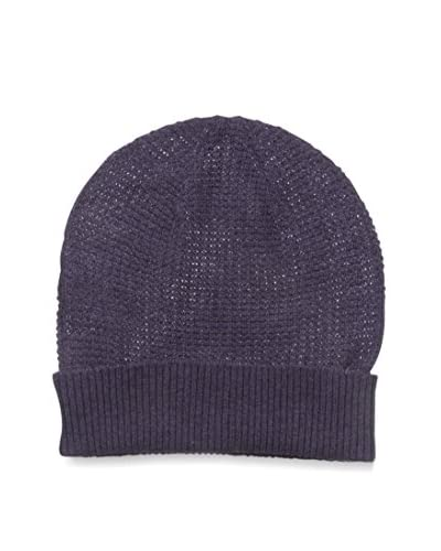 Cullen Men's Cashmere Knit Beanie, Grape