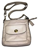 Coach Park Leather Swingpack Crossbody Bag, Ivory F51107