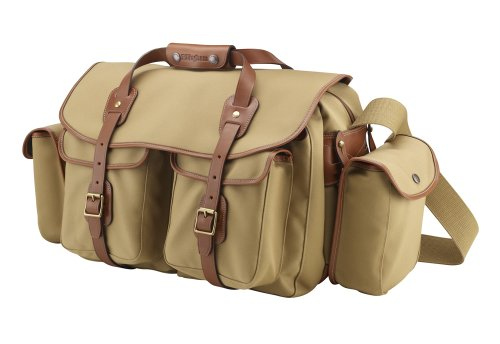 Billingham 550 Khaki Canvas Camera Bag with Tan Leather Trim Black Friday & Cyber Monday 2014