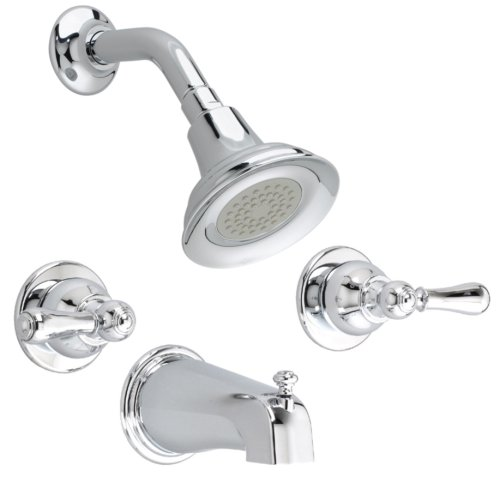 Check Out This American Standard 7220.732.002 Hampton 2-Handle Tub and Shower Set, Polished Chrome