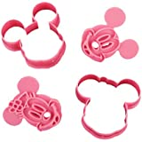 2pcs Cute Mouse Cake Decorating Cookies Cutter