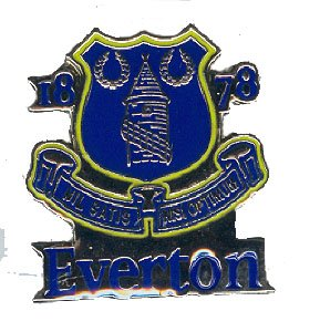 Everton FC Official Metal Crest Pin Badge
