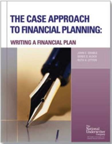 The Case Approach To Financial Planning