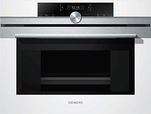Siemens cd634gbw1Set vapeur encastrable/38L/halogène éclairage intérieur/Blanc