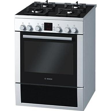 Bosch HGV747356F cuisinière - fours et cuisinières (Autonome, Blanc, Electrique, Gaz naturel, Gaz, Convection, Électronique)