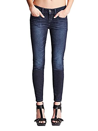 G by GUESS Women's Alyssa Super-Skinny Ankle Jeans
