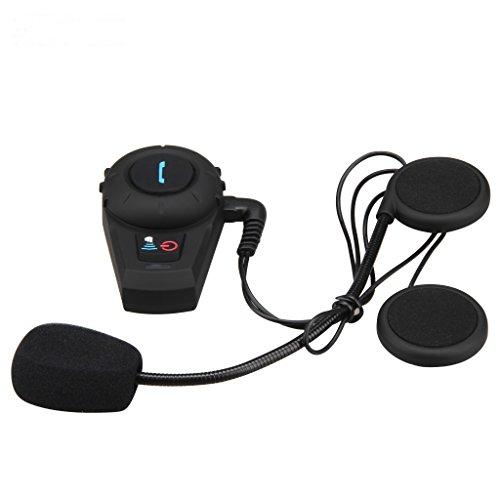 excelvan bt motorcycle helmet bluetooth headset intercom. Black Bedroom Furniture Sets. Home Design Ideas