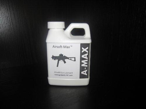 Airsoft Gun Lubricant, Pure Silicone Oil, 8.5 oz