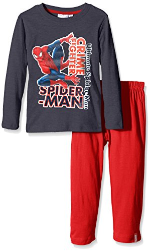 marvel-spiderman-crime-fighter-pijama-ninos-gris-meteor-3-anos-talla-fabricante-3-anos