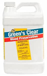 1 gal green 39 s clear wood preservative set of 4. Black Bedroom Furniture Sets. Home Design Ideas