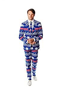 Opposuits The Rudolph Christmas Costume Suit (UK 48/ EU 58)