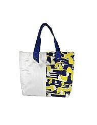 Arisha Kreation Co Women Hand Made Hand Bag (Cream)