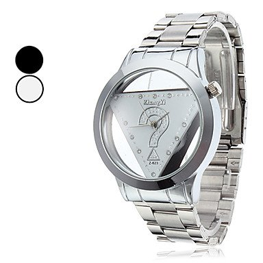 Men's Casual Style Analog Quartz Alloy Wrist Watch (Silver) 'Worldwide shipping'