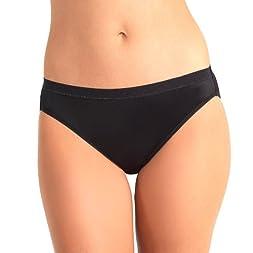 Microfiber Hi-Cut Panty