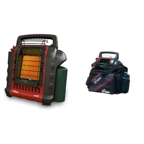 Mr. Heater F232000 MH9BX Buddy 4,000-9,000-BTU Indoor-Safe Portable Radiant Heater and Mr. Heater Portable Buddy Carry Bag 9BX Bundle (Buddy Heater Mh9bx compare prices)