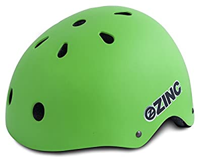 Zinc Boy's Fit Helmet - Green, 54 - 58 cm from Zinc