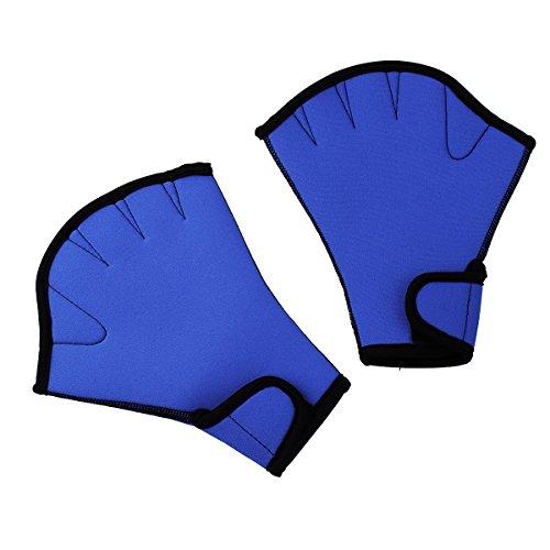 InnoGear Wasserdicht Fingerlos Webbed Swim Gloves Schwimmhandschuhe Aqua Glove
