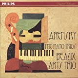 Arensky: Piano Trio No. 1
