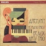 Arensky: Piano Trio No. 1