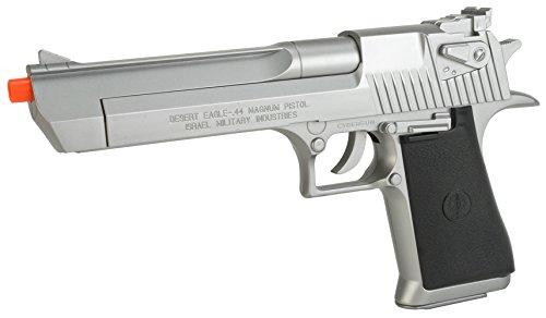 Evike Desert Eagle Licensed Magnum 44 Airsoft Pistol - Silver - (24243) (Airsoft Machine Gun Holster compare prices)