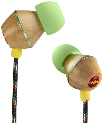 The House Of Marley Em-Je013-Rt People Get Ready - Jammin' In-Ear Headphone With 3-Button Mic - Roots