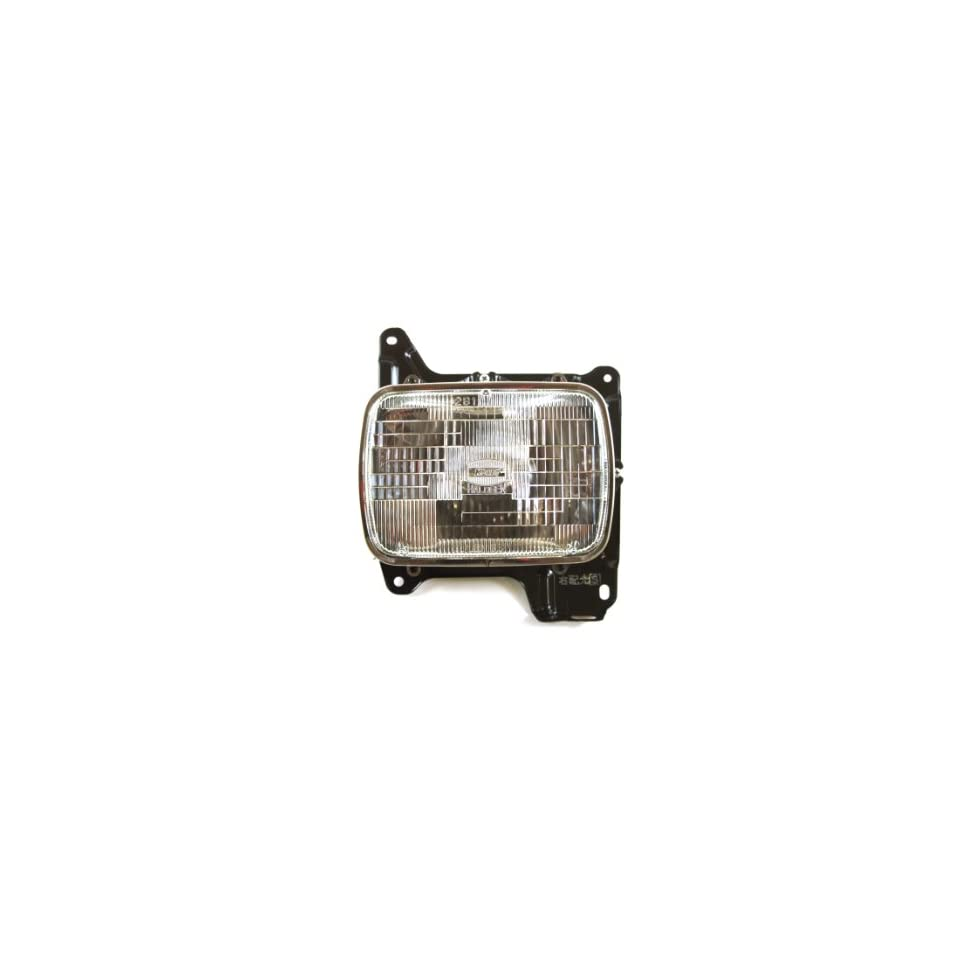 Genuine Nissan Parts B6060 01G10 Driver Side Headlight Assembly Sealed Beam