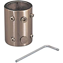 Minka-Aire DR500-PN, Downrod Coupler, Polished Nickel