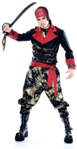 Apocalypse Pirate Costume - Medium - Chest Size 42-44