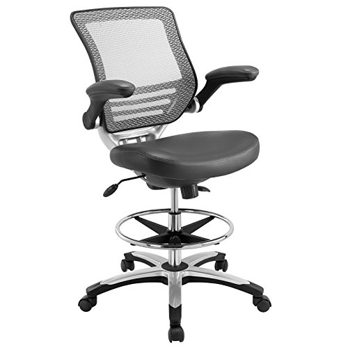 lexmod-edge-drafting-chair-gray