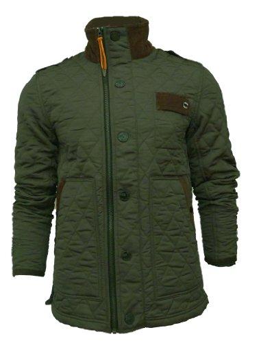 Mens Gio Goi Jarber3 Dark Olive Jacket (Medium - 40