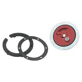 Jaz Products 350-201-06 6-Bolt Flush Mount Fuel Cell Cap Assembly