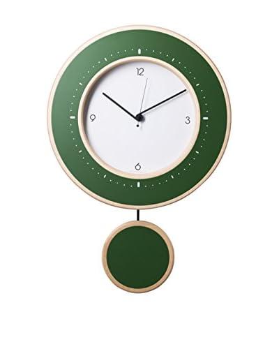 Diamantini N & N Domeniconi klok Ligne groen / geel