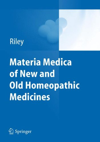 Materia Medica Of New And Old Homeopathic Medicines front-844324