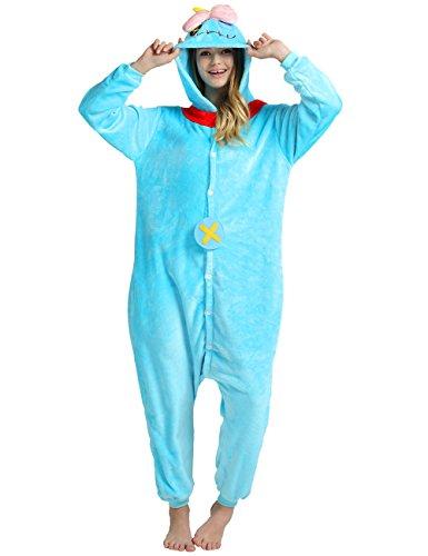 VintageRose Unisex Adult Kigurumi Pajamas Cosplay Costume Sleepwear Voodoo Doll Small (Womens Plus Size Voodoo Doll Costume)