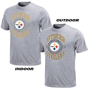 NFL Pittsburgh Steelers Hall of Famer Gamer III T-Shirt - Ash from Nutmeg