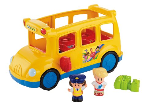 Fisher-Price Little People Lil Movers School Bus - 1
