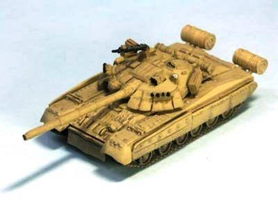 ソビエト軍 T80 主力戦車 U型 デザート迷彩