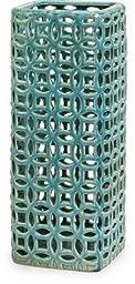 IMAX 25073 Links Tall Graphic Decorative Vase