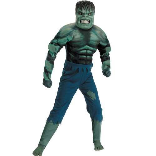 Hulk 2008 Movie Muscle Chest Child Costume - Kid's Costumes