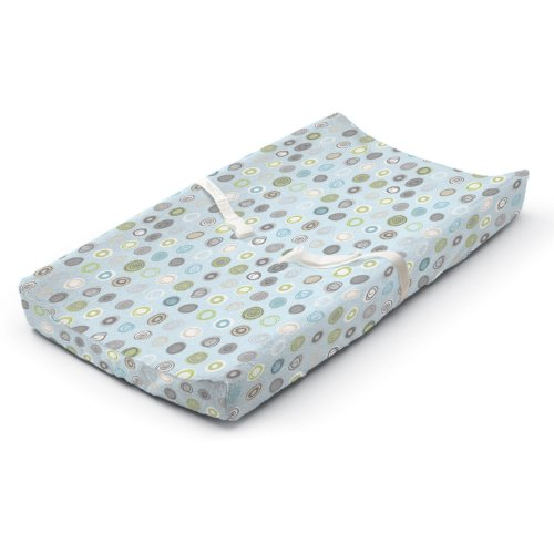 buy Summer Infant Ultra Plush Changing Pad Cover, Blue Swirl for sale