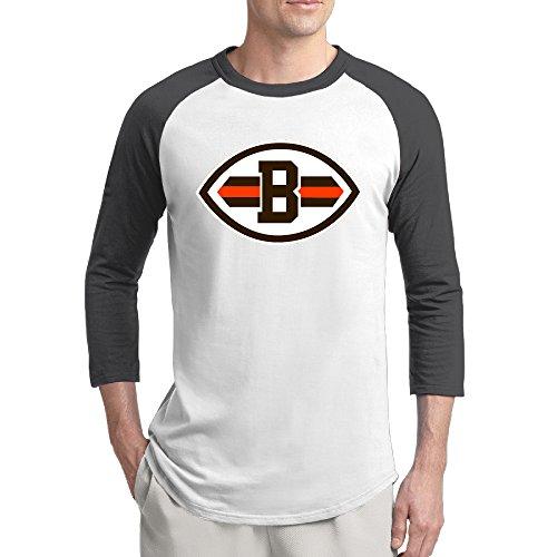 Cotton Cleveland Browns Logo Custom Raglan Tshirt (Tyson Chicken Fried compare prices)