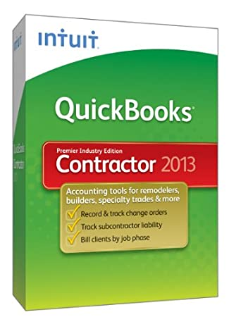 QuickBooks Premier Contractor 2013