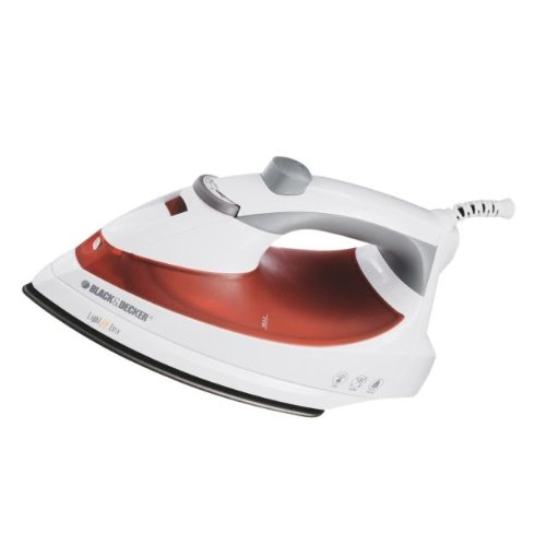 Black & Decker IR1925W Light and Easy Iron with Smart Steam and Nonstick Soleplate