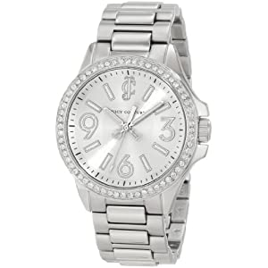 Juicy Couture Women's 1900958 Jetsetter Stainless Steel Bracelet Watch