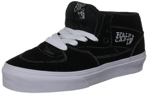 Vans Unisex Half Cab Trainer black VDZ3BLK 9 UK