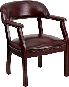 Flash Furniture B-Z105-BRN-GG Bomber Jacket Brown Luxurious Conference Chair