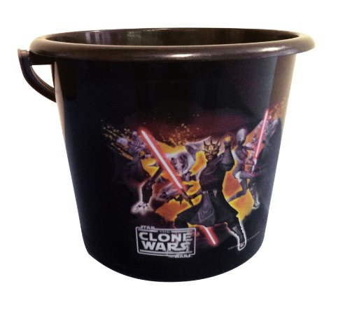 Star Wars Clone Wars Sand Or Trick-Or-Treat Pail front-504861