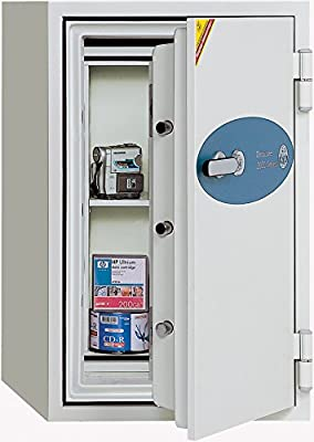 Phoenix Datacare 1.5-Hour Key Lock Fireproof Media Safe - 1.22 cu ft