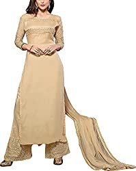 RedHot Fashion Women's Georgette Unstitched Salwar Suit Dress Material (RHHY1006)